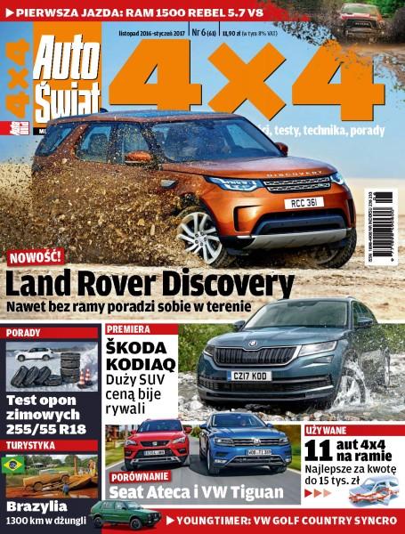 Auto Świat 4 X 4 - inne - prenumerata roczna już od 14,90 zł