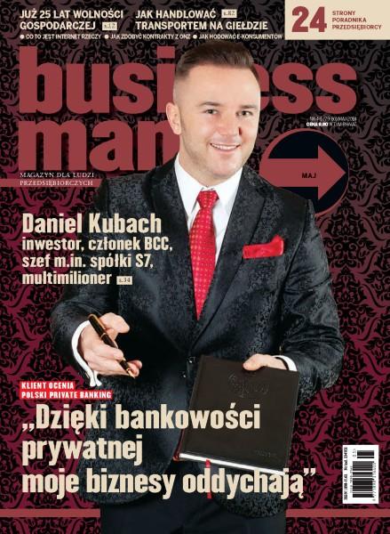 Businessman.Pl - miesięcznik - prenumerata półroczna już od 9,90 zł