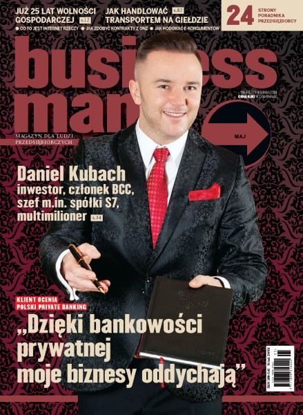 Businessman.Pl - miesięcznik - prenumerata kwartalna już od 9,90 zł