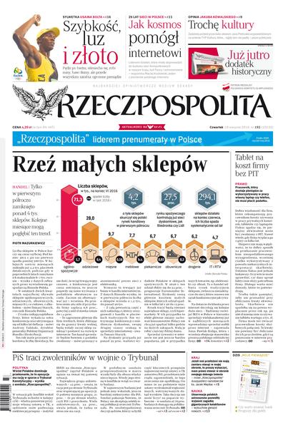 Rzeczpospolita Plus - dziennik - prenumerata roczna już od 6,27 zł