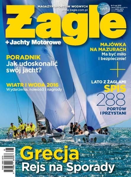 Magazyn Sportów Wodnych Żagle - miesięcznik - prenumerata roczna już od 11,99 zł