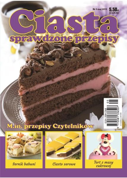 Ciasta Sprawdzone Przepisy - miesięcznik - prenumerata kwartalna już od 5,50 zł